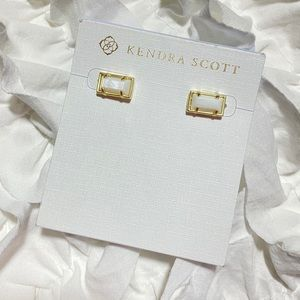 Kendra Scott Paola Gold w Mother of Pearl